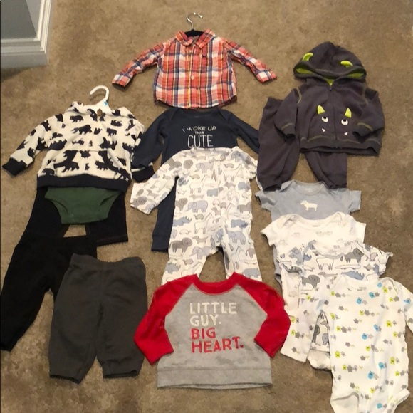 44866539e Carter's Matching Sets | Huge 15 Piece Carters Baby Boy 6 Mo Lot ...